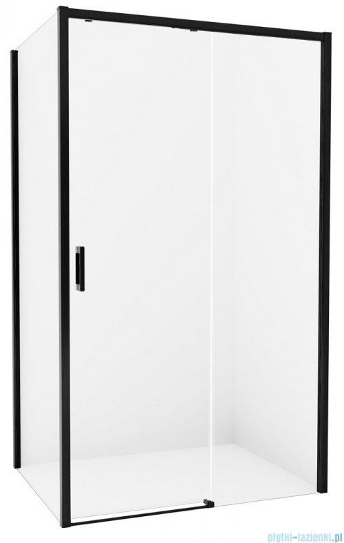 New Trendy Prime Black kabina prostokątna 140x100x200 cm prawa przejrzyste D-0325A/D-0130B