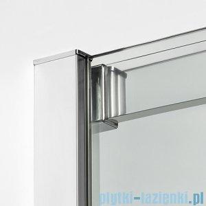 New Trendy Porta kabina prostokątna 100x90x200cm prawa szkło przejrzyste detale
