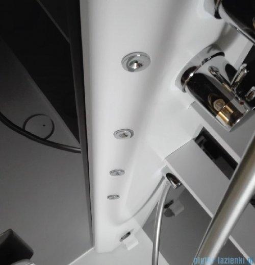 Novellini Glax 2 2.0 kabina z hydromasażem 120x80 lewa total biała G222P129ST1-1UU