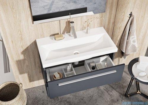 Elita Kwadro Plus szafka z umywalką 60x53x40cm anthracite 166770/22052008N
