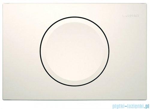 Geberit Delta11 Przycisk uruchamiający przedni biały 115.120.11.1