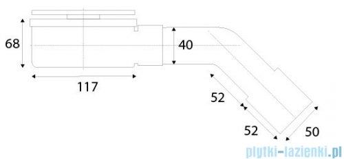 New Trendy syfon brodzikowy Ø 90 mm S-0037