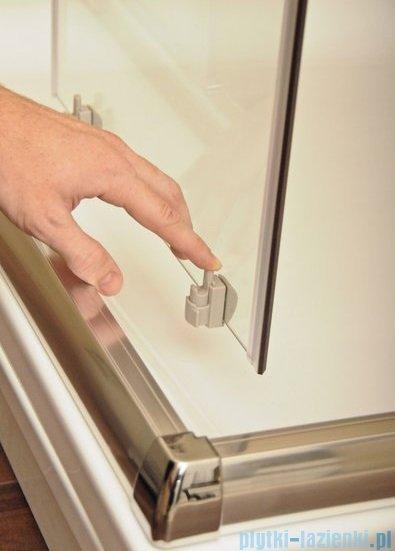Ravak Blix BLDP4 drzwi prysznicowe 170cm aluminium transparent Anticalc 0YVV0C00Z1