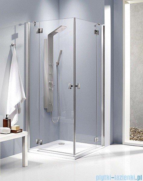 Radaway Kabina prysznicowa Essenza KDD 80x100 szkło przejrzyste