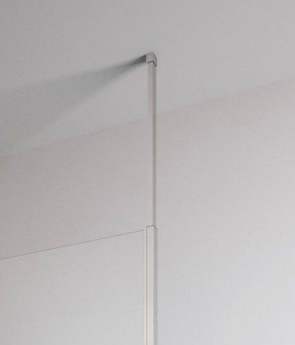 Radaway Modo New II kabina Walk-in 145x200 szkło przejrzyste wspornik sufitowy