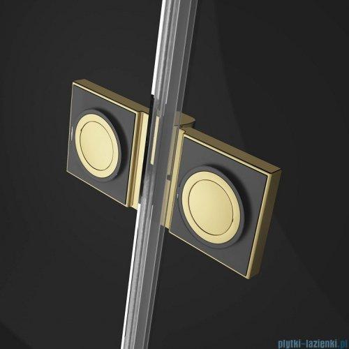 Radaway Essenza Pro Gold Kdj kabina 120x75cm lewa przejrzyste 10097120-09-01L/10098075-01-01