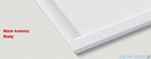 Blanco Rondoval 45 S Zlewozmywak Silgranit PuraDur  kolor: biały  bez kor. aut. 515764