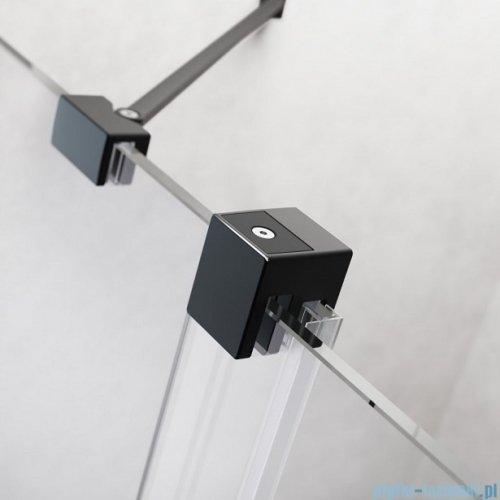 Radaway Furo Black DWJ drzwi prysznicowe 160cm prawe szkło przejrzyste 10107822-54-01R/10110780-01-01