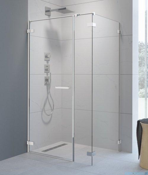 Radaway Arta Kds I kabina 100x100cm lewa szkło przejrzyste + brodzik Doros C + syfon