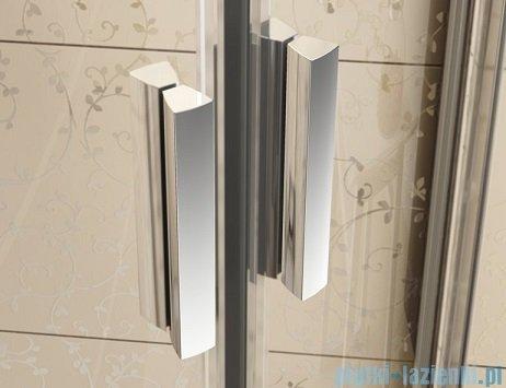 Ravak Blix BLDP4 drzwi prysznicowe 160cm białe transparent Anticalc 0YVS0100Z1