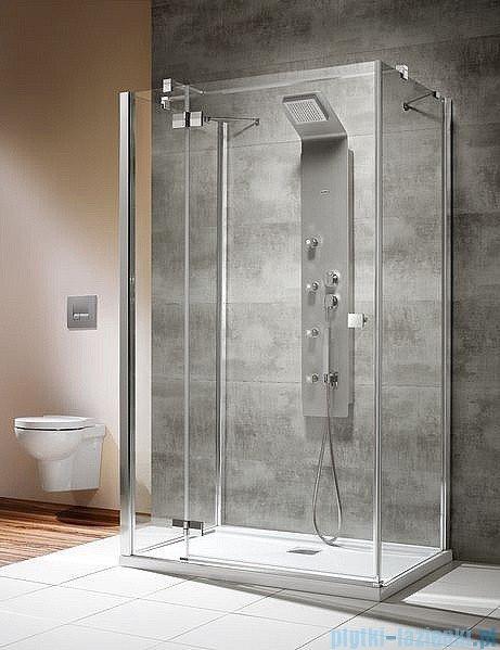Radaway Kabina prysznicowa Almatea KDJ+S 80x120x80 lewa szkło przejrzyste