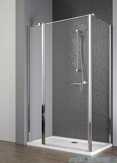 Radaway Eos II KDJ kabina prysznicowa 100x80 lewa szkło przejrzyste + brodzik Argos D + syfon