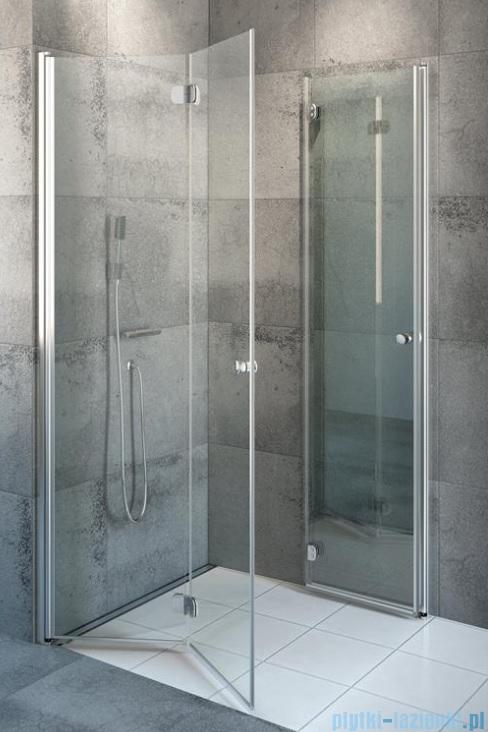 Radaway Eos KDD-B kabina prysznicowa 90x90cm przejrzyste bez listwy progowej 37303-01-01NB