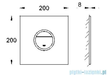 Grohe Ondus® Digitecture Light przycisk uruchamiający kolor: moon white   38915LS0