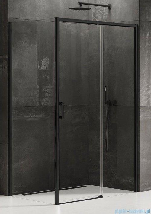 New Trendy Prime Black kabina prostokątna 130x70x200 cm prawa przejrzyste D-0323A/D-0127B