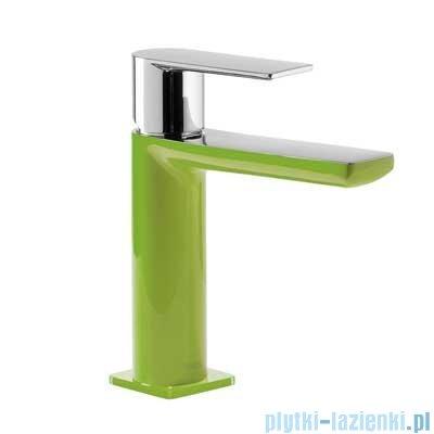 Tres Loft Colors Bateria umywalkowa z korkiem automatycznym kolor zielony 200.103.01.VE.D