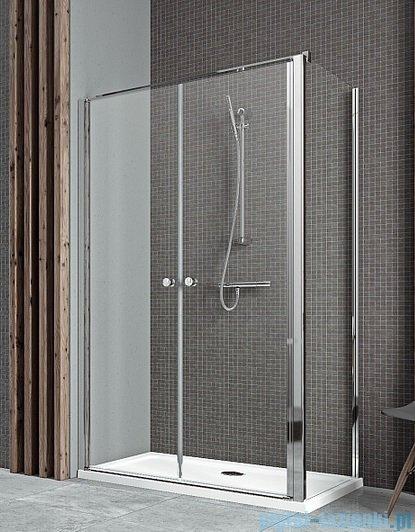 Radaway Eos II DWD+S kabina prysznicowa 90x75cm lewa szkło przejrzyste