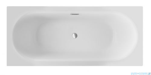 Besco Vitae Slim + 150x75cm wanna prostokątna + syfon #WAV-150-S+