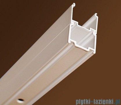 Ravak Blix BLDP4 drzwi prysznicowe 130cm aluminium transparent Anticalc 0YVJ0C00Z1