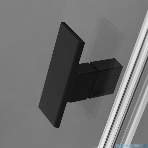 Radaway Nes Black Kdd I Frame kabina 100x80cm 10021100-54-56L/10021080-54-56R