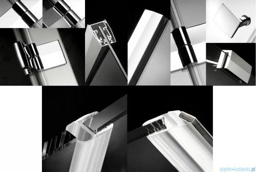 Radaway Almatea Kdd Kabina kwadratowa 80x80 szkło brązowe 32162-01-08N