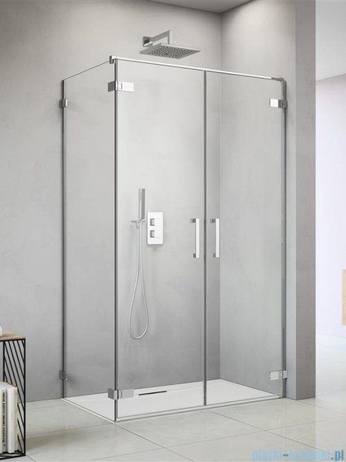 Radaway Arta Dwd+s kabina 100 (60L+40R) x100cm prawa szkło przejrzyste