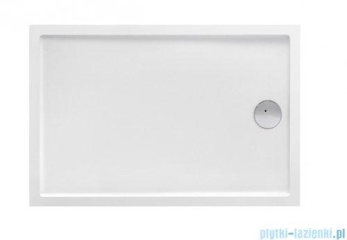 Roca Granada Medio brodzik prostokątny 120x80x7,5cm biały A27T007000