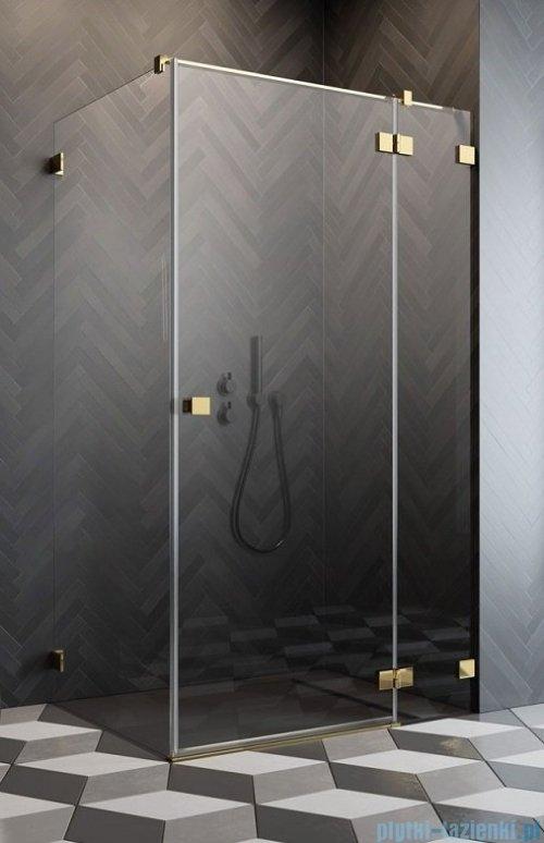 Radaway Essenza Pro Gold Kdj kabina 120x120cm prawa przejrzyste 10097120-09-01R/10098120-01-01