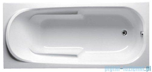 Riho Columbia wanna prostokątna 140x70cm biała BA05