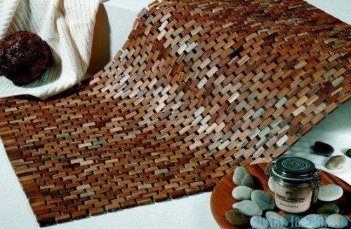 Sealskin Dywanik łazienkowy/mata Woodblock 60x60cm 293326674