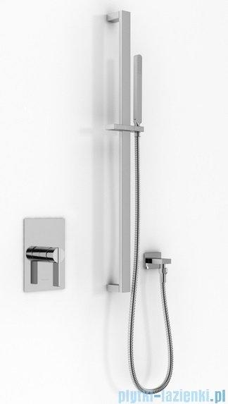 Kohlman Dexame zestaw prysznicowy chrom