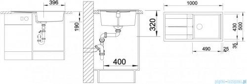 Blanco Metra XL 6 S Zlewozmywak Silgranit PuraDur kolor: alumetalik  z kor. aut. 515279
