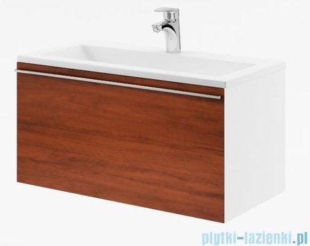 Ravak Clear szafka pod umywalkę 100 biała/orzech X000000760