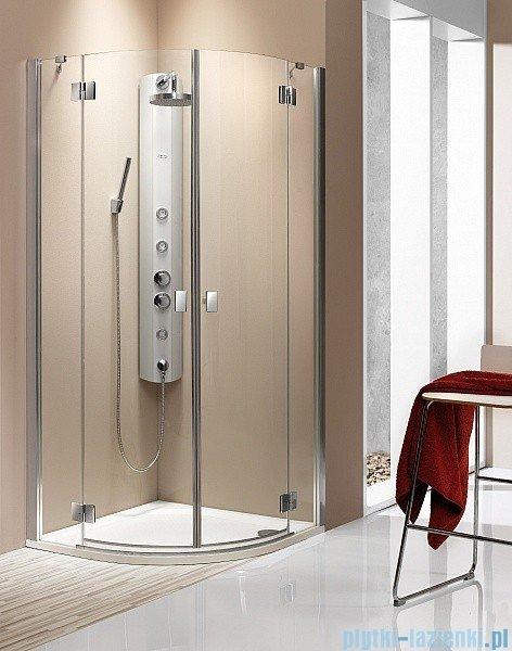 Radaway Kabina prysznicowa Essenza PDD E 90x80 szkło brązowe