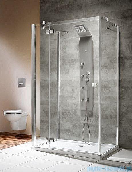 Radaway Kabina prysznicowa Almatea KDJ+S 80x80x80 lewa szkło przejrzyste ShowerGuard