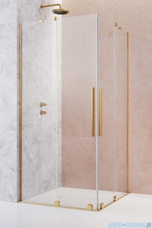 Radaway Furo Gold KDD kabina 110x120cm szkło przejrzyste 10105110-09-01L/10105120-09-01R