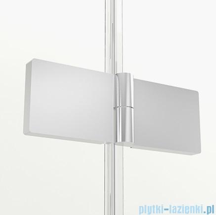 New Trendy New Soleo parawan nawannowy 2-skrzydłowy 120x140 cm prawy przejrzyste P-0031