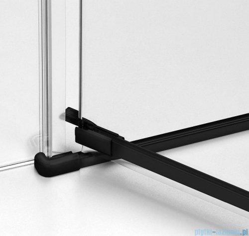 New Trendy Avexa Black kabina prostokątna 90x110x200 cm przejrzyste lewa EXK-1580