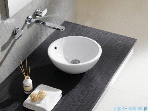 Bathco Castellon C umywalka nablatowa 35cm biała 4015