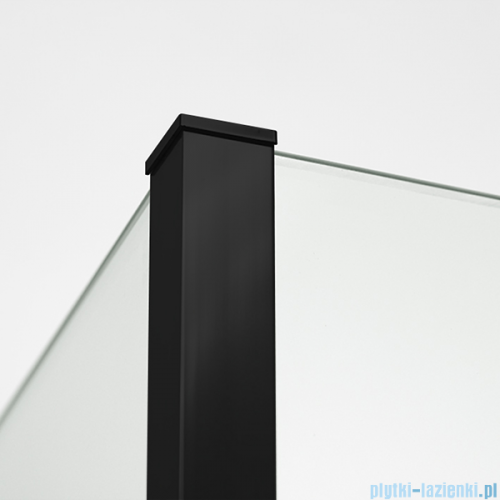 New Trendy New Modus Black kabina Walk-In 100x200cm przejrzyste EXK-0091/EXK-0088/EXK-0088
