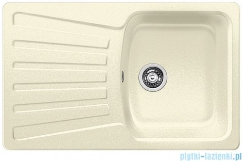 Blanco Nova 45 S Zlewozmywak Silgranit PuraDur kolor: jaśmin  bez kor. aut. 510576
