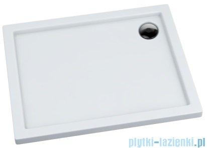 Massi Primero brodzik prostokątny 70x120cm biały MSBR-D104A-70-120