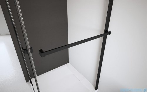 Radaway Modo New Black III kabina Walk-in 125x90x200 Frame 389125-54-56/389094-54-56/389000-54