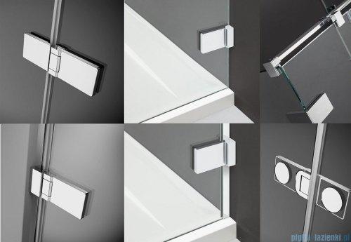 Radaway Arta Kdj II kabina 100x100cm prawa szkło przejrzyste + brodzik Doros C + syfon