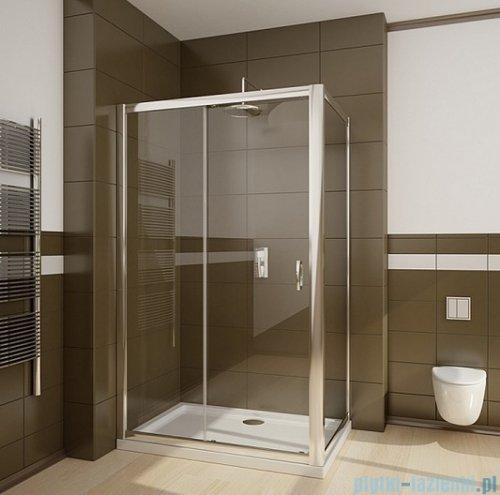 Radaway Premium Plus DWJ+S kabina prysznicowa 120x80cm szkło brązowe
