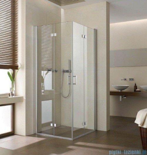Kermi Diga Wejście narożne,połowa kabiny, prawa, szkło przezroczyste, profile srebrne 120x200cm DI2CR12020VAK