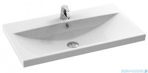 New Trendy umywalka ceramiczna z otworem na baterię 80 cm U-0080