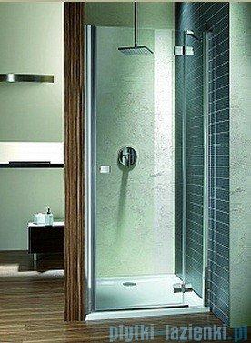 Radaway Almatea DWJ Gold drzwi wnękowe 120 prawe szkło grafitowe 31502-09-05N