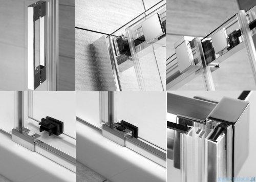 Radaway Espera KDJ Mirror kabina prysznicowa 140x80 lewa szkło przejrzyste detale
