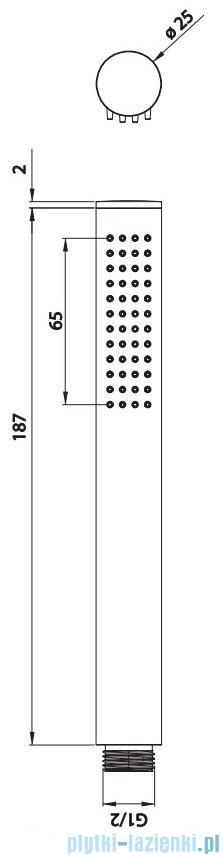 Omnires Y zestaw podtynkowy wannowy chrom SYSYW01CR